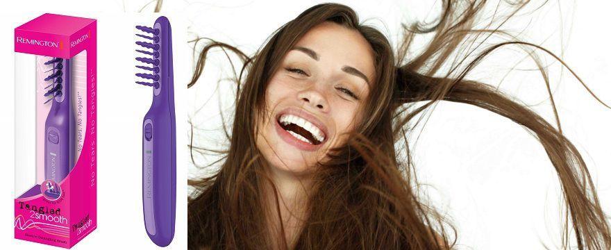 ROZWIĄZANIE: WYCZESANY KONKURS dla mamy i dziecka! Wygraj elektryczną szczotkę Remington Tangled 2 Smooth do rozczesywania włosów