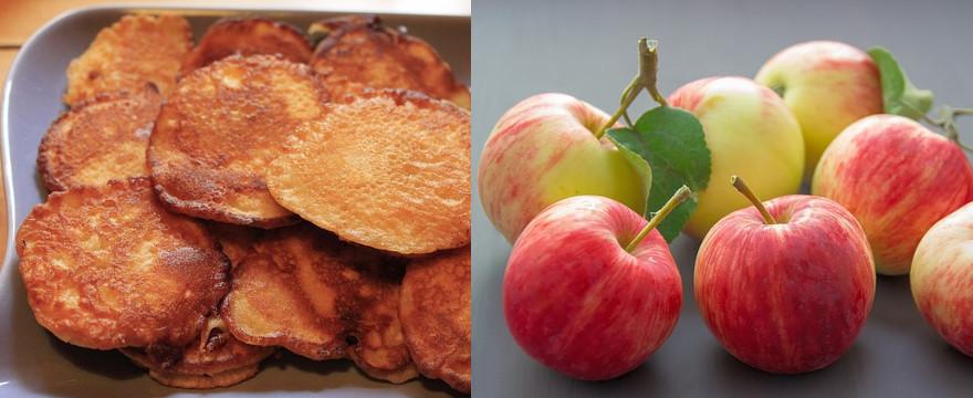 Ukochane danie Klary Lewandowskiej: placuszki z jabłkami. Przepis!