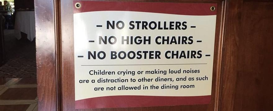Zakaz w restauracji? Tak się zaczyna dyskryminacja rodziców z małymi dziećmi!