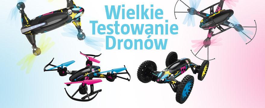 TESTOWANIE: Teraz latający DRON może być Twój!
