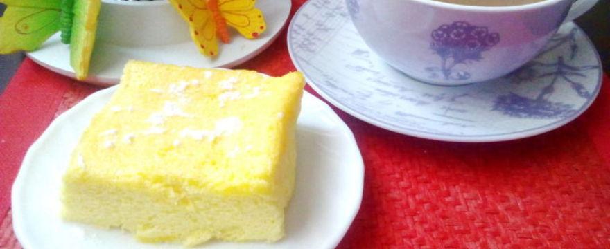 Sernik japoński – przepis na sernik z trzech składników