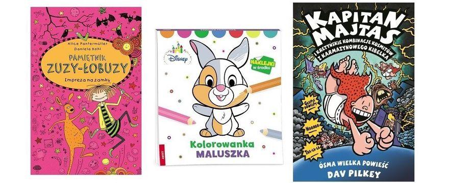 Nowości wydawnicze dla dziecka i rodzica TOP 5 MARCA