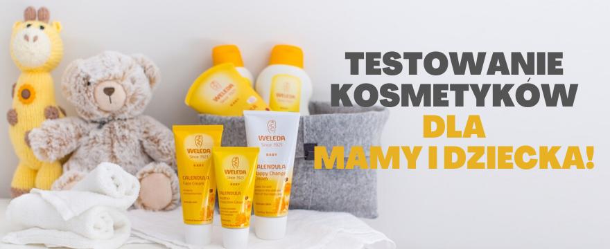 TESTOWANIE: 50 zestawów naturalnych kosmetyków WELEDA dla mamy i dziecka