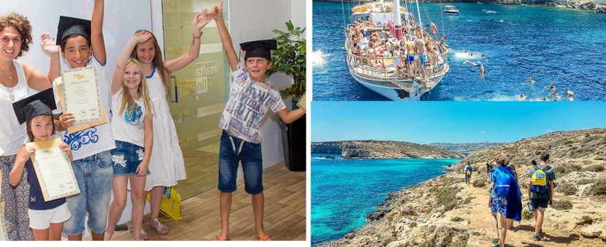 Letnie kursy dla dzieci i młodzieży w Maltalingua