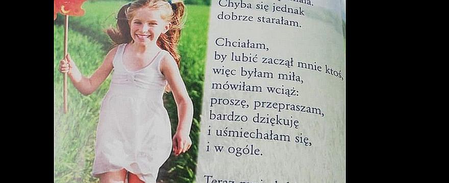 Rodzice oburzeni szkolnym wierszykiem dla dziewczynek