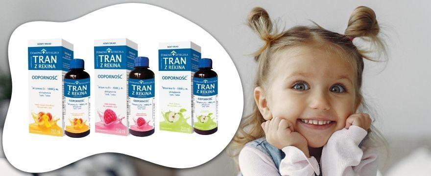 Jesienne testowanie tranu dla dzieci! Pij tran i wzmacniaj odporność