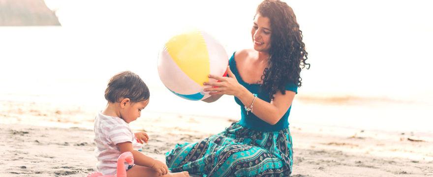 Jak wybrać krem z filtrem dla niemowląt i dzieci?