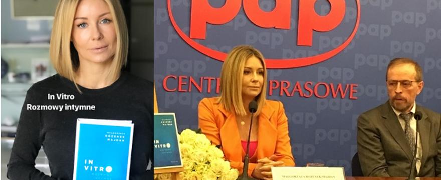 """""""In vitro. Rozmowy intymne"""": Małgorzata Rozenek – Majdan o swojej trudnej drodze do macierzyństwa"""
