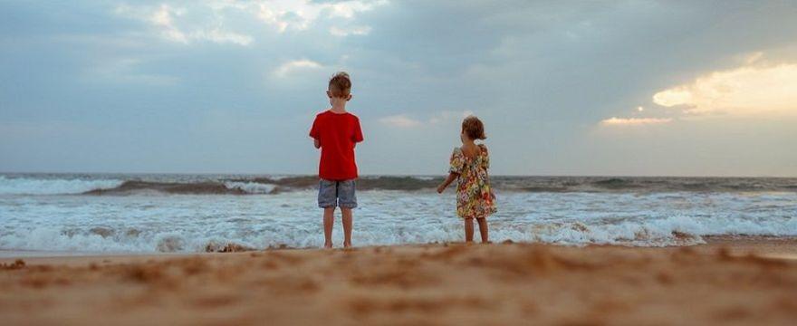 Wakacje z dzieckiem w Polsce: tam są czyste plaże!