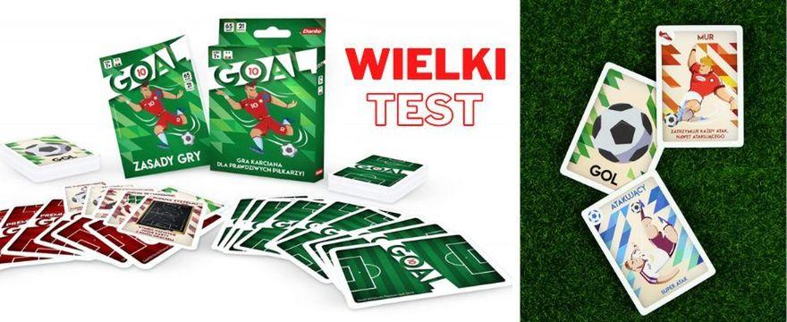 Wiosenne TESTOWANIE gry GOAL! Teraz w piłkę nożną zagrasz z rodziną w domu
