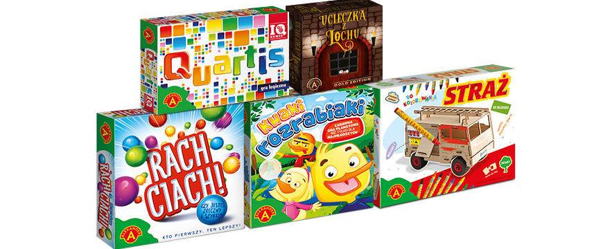 Konkurs Mikołajkowy: wygraj 1 z 5 gier dla całej rodziny!