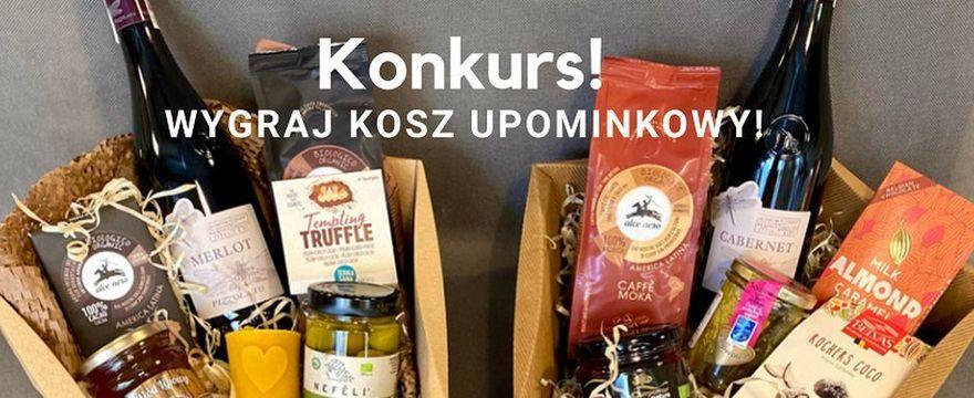 KONKURS: Wygraj kosz podarunkowy od Organic Corner Food Store&Bistro!