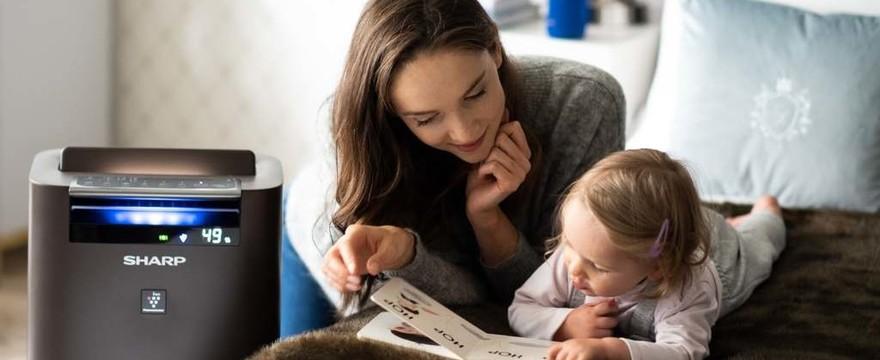Dlaczego warto zadbać o rodzinę poprzez zapewnienie czystego powietrza w domu? Technologia Plasmacluster marki Sharp