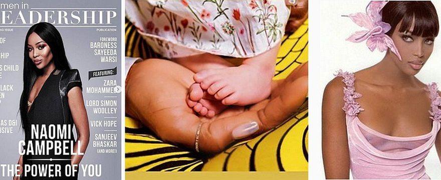 Naomi Campbell została mamą! 50-latka pokazała ZDJĘCIE