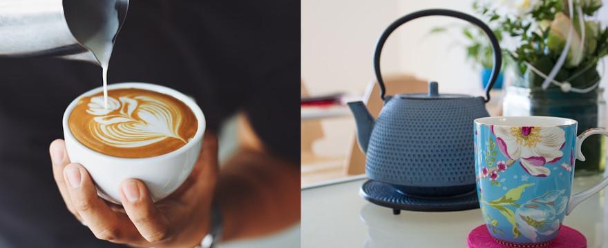 Kawa czy herbata? Co wybierasz?
