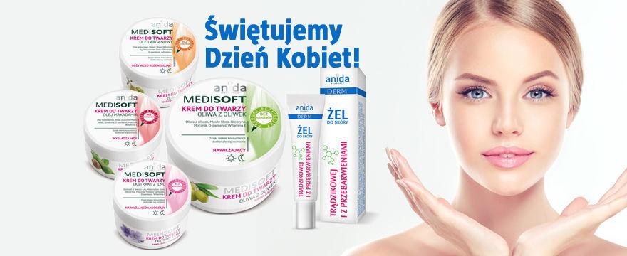Wygraj naturalne kosmetyki od Medi Soft na Dzień Kobiet!