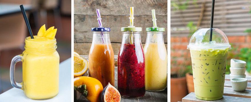 TOP 5 przepisów na zdrowe i orzeźwiające smoothie!