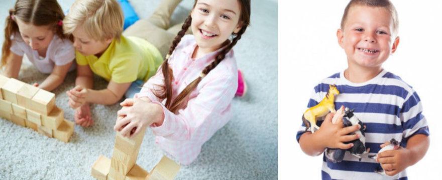 Odpowiednie zabawki budują mądry świat dziecka