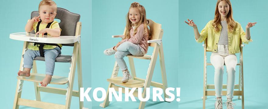 Konkurs: rozszerzamy dietę dziecka. Wygraj krzesełko do karmienia Lionelo dla niemowląt!