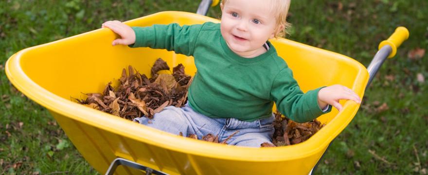 Bezpieczeństwo dzieci w ogrodzie
