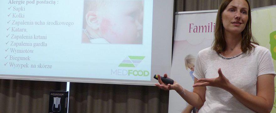 Natalia Gniadek dla przyszłych mam - MedFood na warsztatach