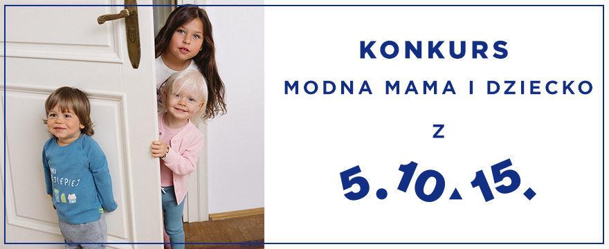 WYNIKI! Modna mama i dziecko razem z 5.10.15. - stwórz stylizacje na jesień i wygraj nagrody! KONKURS