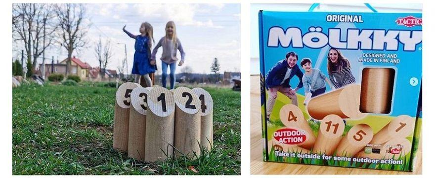 Gra plenerowa Mölkky to prawdziwy HIT: znamy OPINIE rodziców, którzy testowali Mölkky razem z dziećmi!