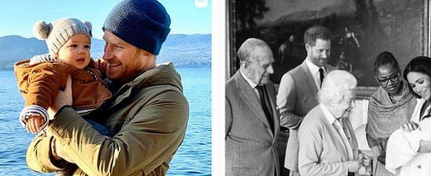 Książę Harry zawiezie córkę do Królowej. Meghan nie uwzględniono w planach