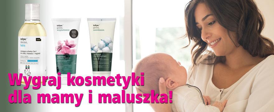 To, co najlepsze dla mamy i maluszka! Wygraj kosmetyki! WYNIKI