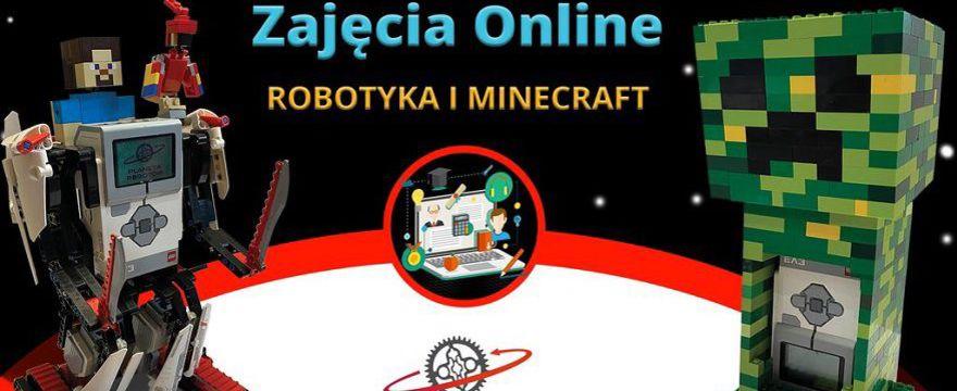 Darmowe zajęcia on-line z robotyki i nauka w świecie Minecraft dla dzieci