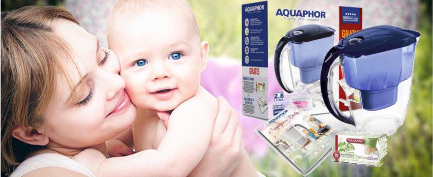 MAMY TESTUJĄ! Dzbanki filtrujące wodę Aquaphor dla wspaniałych MAM!