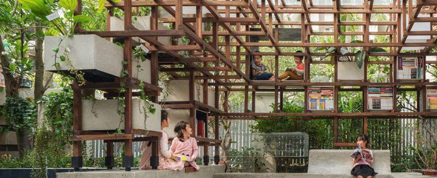 Dziecięca biblioteka: świetny projekt edukacyjny dla dzieci w Wietnamie