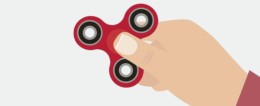 Uwaga: popularny spinner może być niebezpieczny dla dzieci!