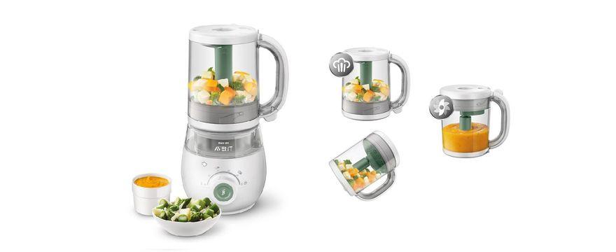 TESTOWANIE: Philips Avent 4w1 - urządzenie do przygotowywania jedzenia na parze dla dzieci