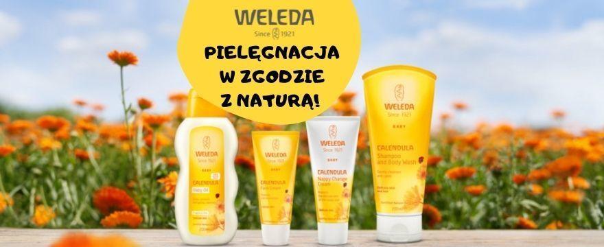 Testowanie WELEDA: zadbaj naturalnie o zdrową skórę malucha!