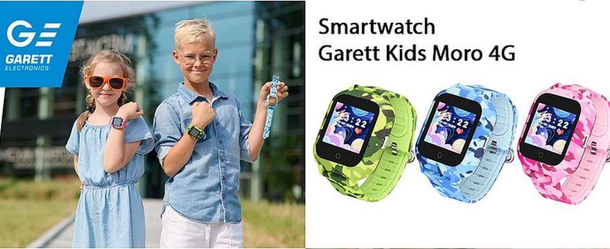 KONKURS: Wygraj designerski smartwatch Garett dla dziecka!