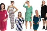 TOP 40 - Najmodniejsze sukienki ciążowe