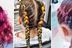 Kolorowe włosy to wśród dzieci hit lata 2018!