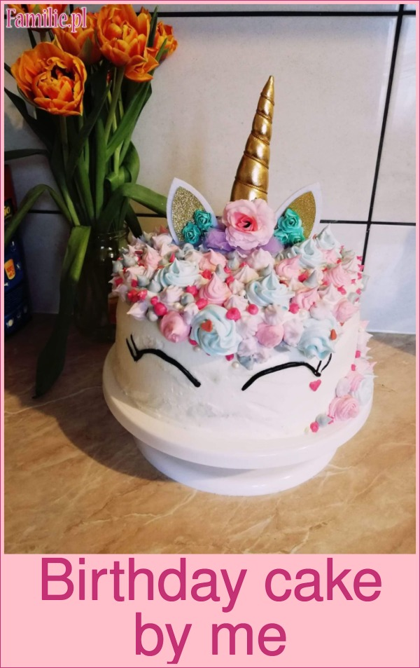 Birthday cake by me