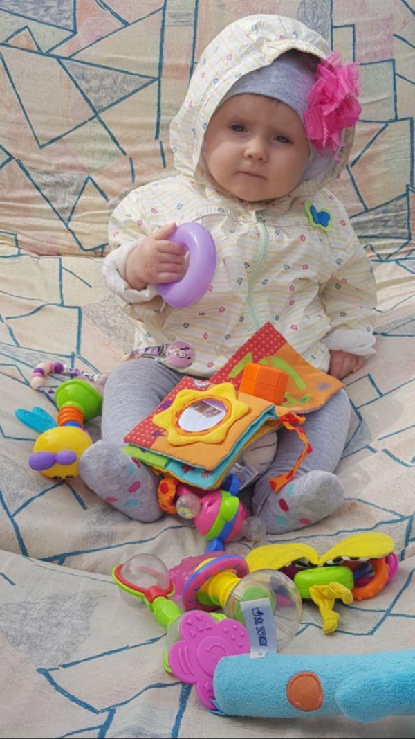 Zuzia, 9 miesięcy