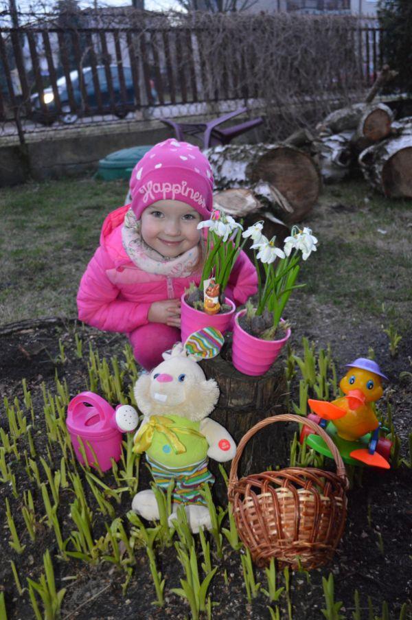 Maja wiosenna, lat 4
