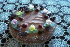 Tort czekoladowo wiśniowy.