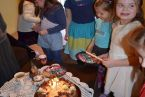 Urodziny Alusi - moment kulminacyjny.