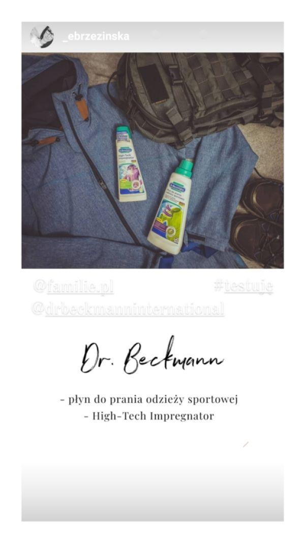 Testowanie - środki piorące Dr.Beckmann