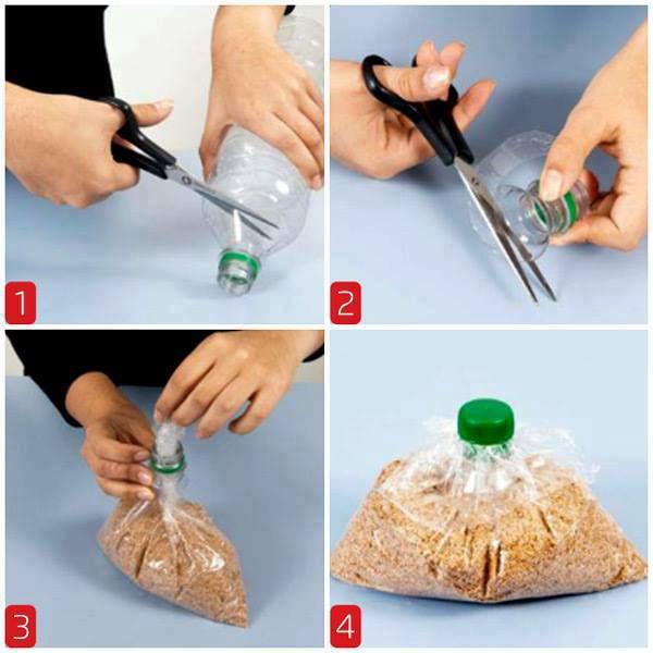 آموزش وکیوم کردن نایلون و پلاستیک با شیشه نوشابه