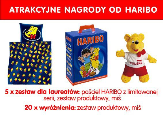 nagrody od Haribo