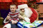 Igi 4lata:) I miły starszy siwy pan Mikołaj:)