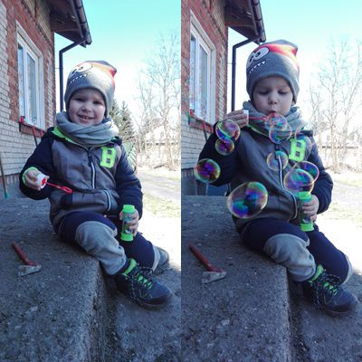 Szymon, 3 lata.