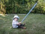 Trening młodego Jedi