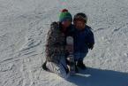 2,5 roczny narciarz